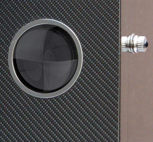 Elie Bleu présente son nouveau cabinet rotatif montres en fibres de carbone