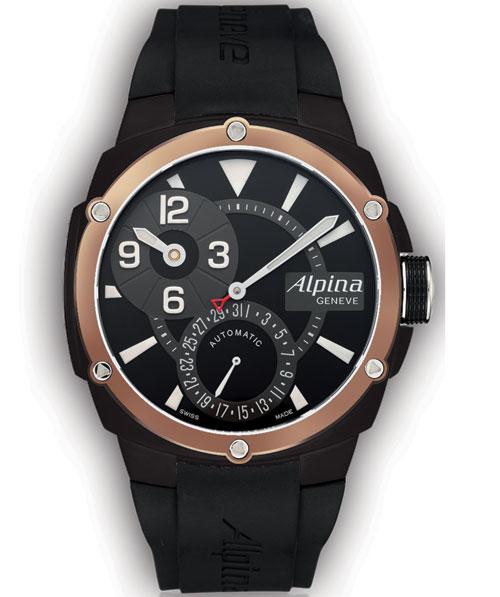 Alpina Manufacture Régulateur Gold and Black : 125 pièces pour les 125 ans d'Alpina