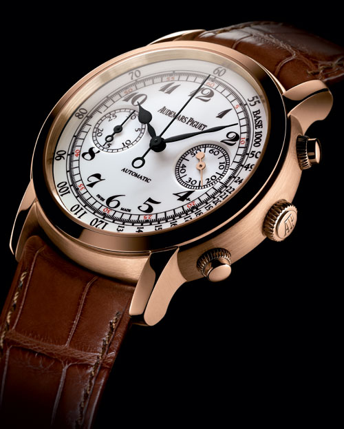 Chronographe automatique Jules Audemars : un chrono au charme délicatement vintage
