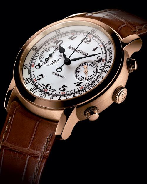 Chronographe automatique Jules Audemars : un chrono au charme délicatement vintage