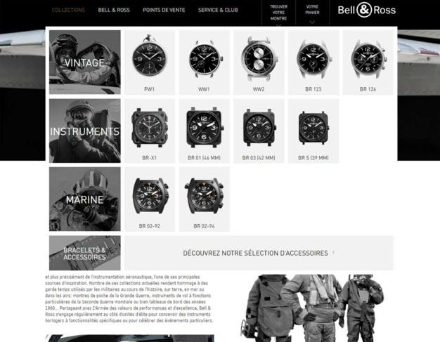 Bell & Ross : mise en ligne de son nouveau site web
