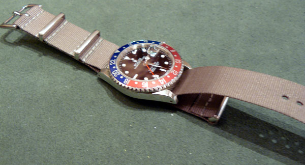 Bracelet Nato : de l'art d'en changer…