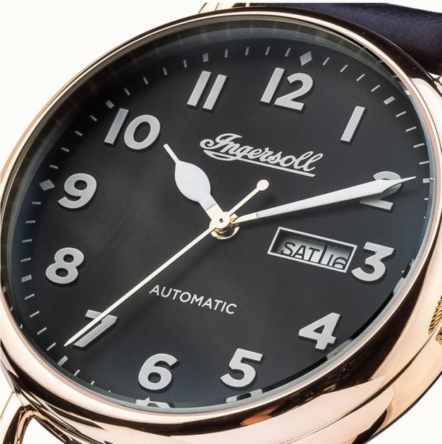 Ingersoll Trenton Automatic : l'heure rétro