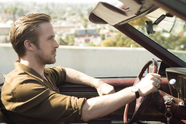 Ryan Gosling and his Omega Vintage in La La Land