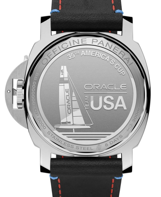 Panerai Luminor Marina Oracle Team USA 8 Days en acie