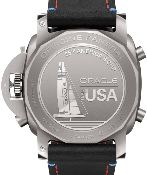 Panerai Luminor 1950 Regatta Oracle Team USA chrono flyback 47 mm