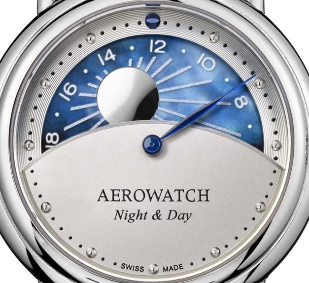 Aerowatch 1942 Night & Day : l'heure, de l'aube au crépuscule