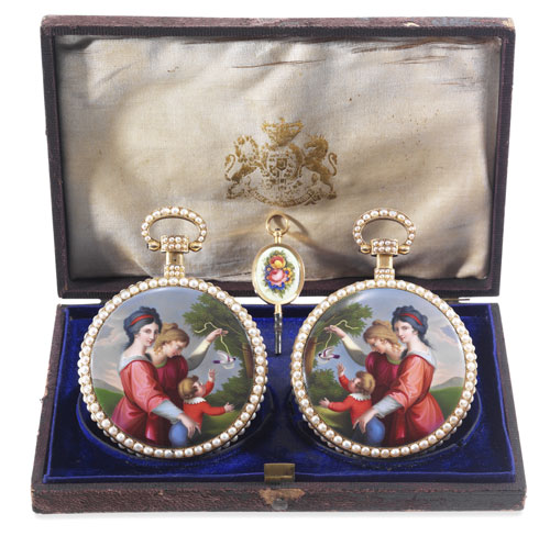 The Royal Presentation Mirror-Image Pair