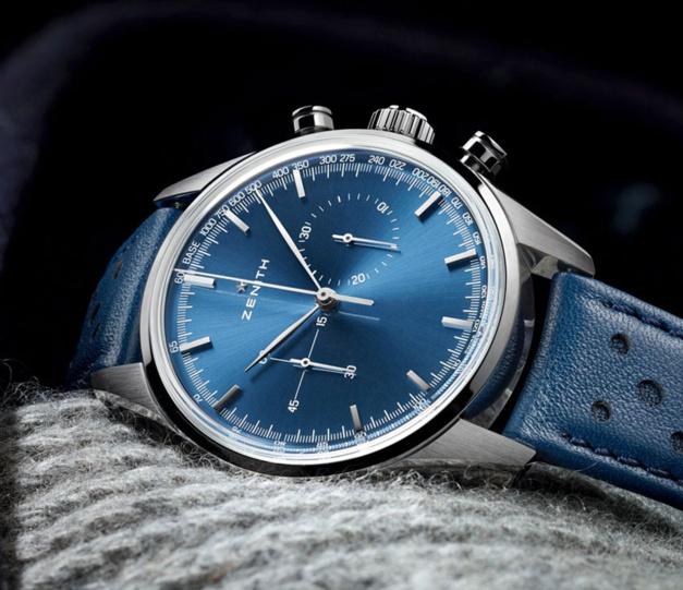 Zenith Heritage 146 : cadran bleu ou cadran brun ?