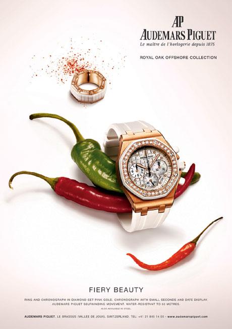 Campagne de communication Audemars Piguet 2008