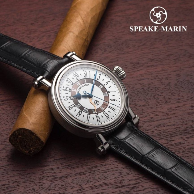 Speake-Marin Brown Serpent Calendar