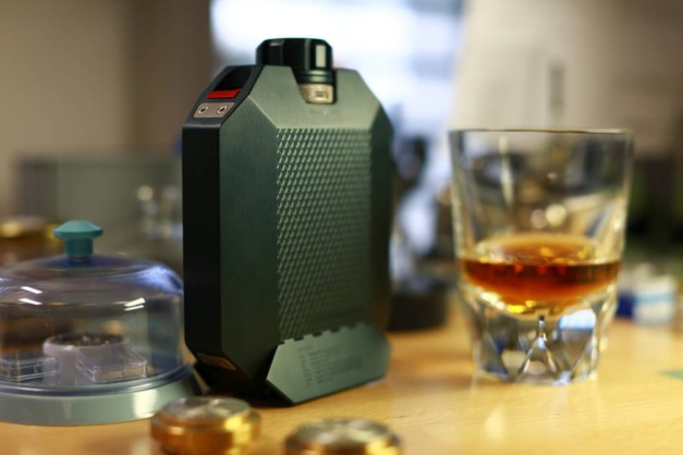 La flasque à whisky Urwerk pour The Macallan
