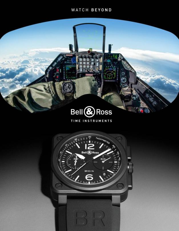 Watch Beyond : la nouvelle campagne de communication de Bell & Ross