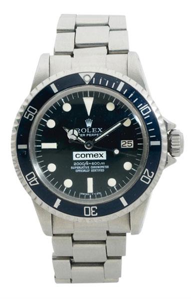 Rolex Comex : sept pièces de collection en vente chez Tajan le 16 décembre prochain