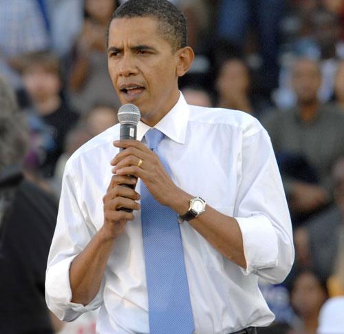 Barack Obama porte une Tag Heuer