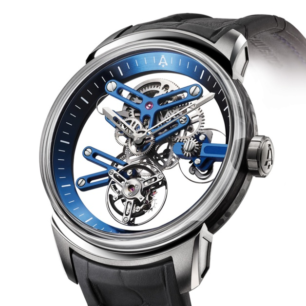 Angelus U20 Ultra-Skeleton Tourbillon : en toute transparence
