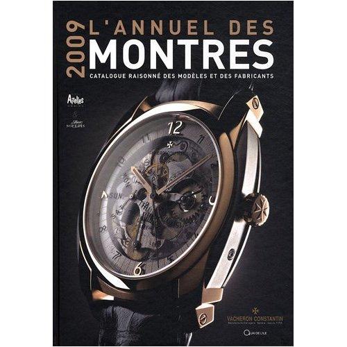 Annuel des montres : parution de l'édition 2009