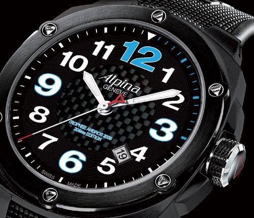 Alpina : chronométreur officiel de la 20ème édition du Trophée Andros