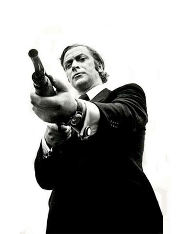 La loi du milieu : Michael Caine porte une Rolex Datejust sur bracelet cuir