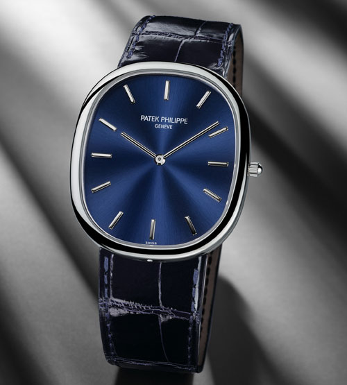Ellipse d'or Patek Philippe en platine