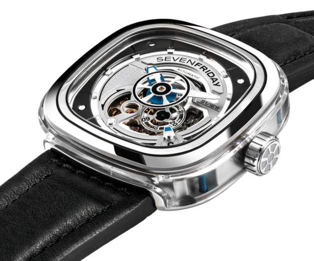 SevenFriday S-Series S1/01 : un retour en transparence
