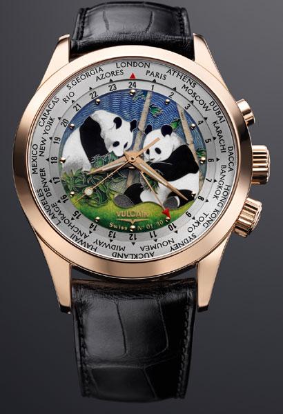 Vulcain Aviator GMT « The Pandas » : une édition limitée et un symbole de paix…