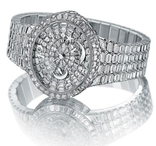 Cat's eye haute joaillerie Girard-Perregaux : une montre prestigieuse parée de plus de 500 diamants