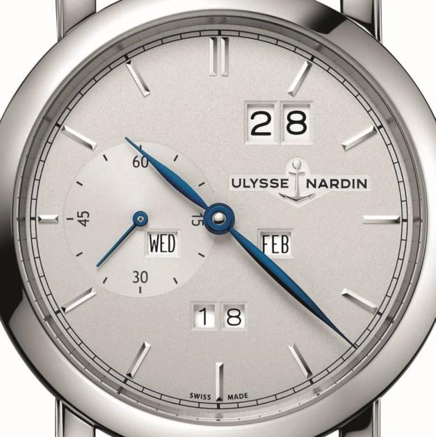Ulysse Nardin Classic Perpetual Ludwig : un beau QP acier
