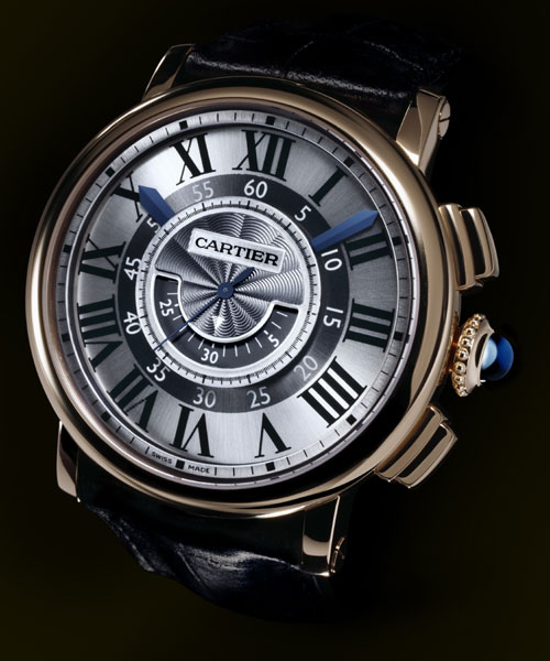 Rotonde de Cartier chronographe central : quand Cartier revisite la fonction chronographe