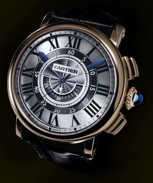Rotonde de Cartier chronographe central : quand Cartier revisite la fonction chronographe
