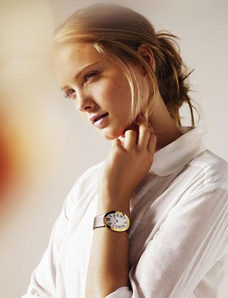 Baignoire : quand Cartier revisite l'une de ses icônes horlogères…