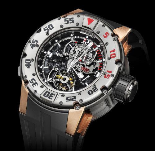Richard Mille présente la RM 025, un chronographe de plongée à tourbillon…