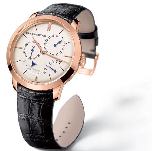 Girard-Perregaux 1966 : la gamme se dote d'un calendrier annuel et de l'équation du temps