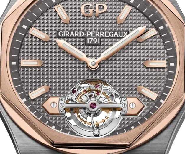 Girard-Perregaux Laureato Tourbillon : un Pont d'Or