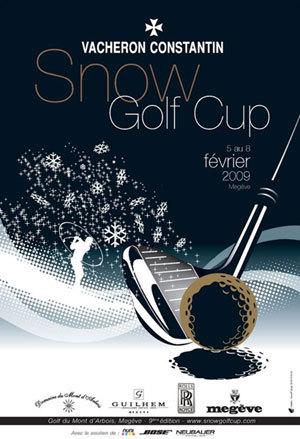Vacheron Constantin : partenaire de la Snow Golf Cup de Megève