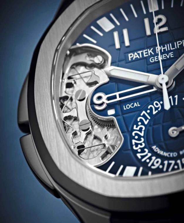 Patek Travel Time 5650 : une Aquanaut d'avant-garde