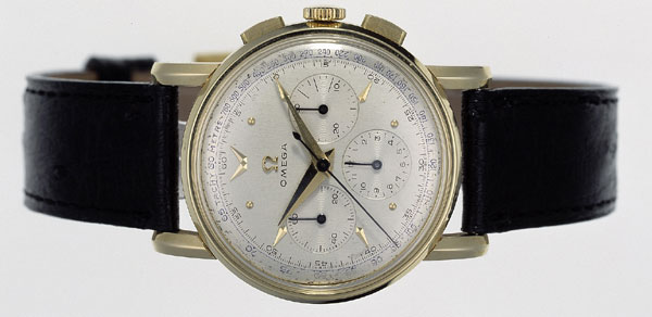 chronographe Omega en or de 1951