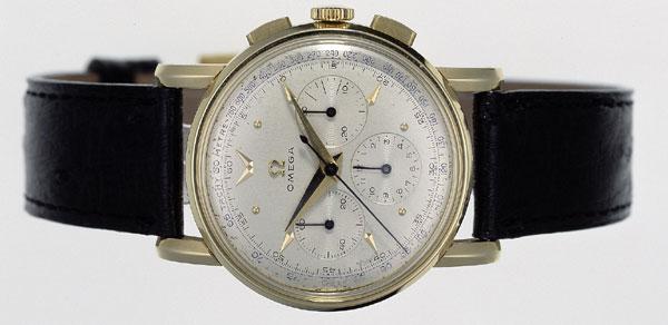 chronographe Omega en or de 1951