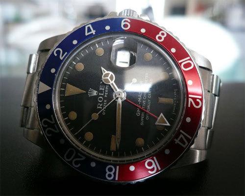 Rolex GMT Master de 1964, un modèle vintage