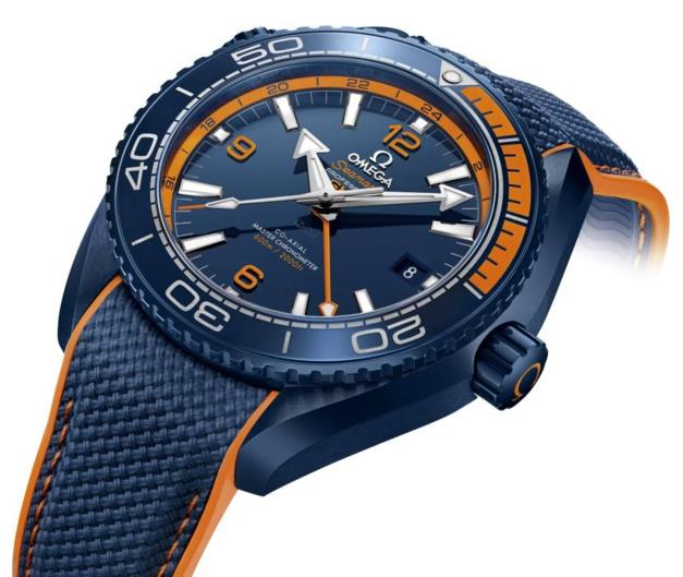 "Omega Seamaster Planet Ocean ""Grand Bleu"""