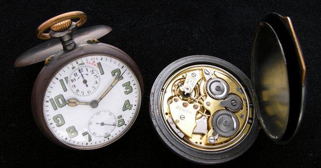 La montre de poche Zenith de Gandhi retrouve le chemin de l'Inde…