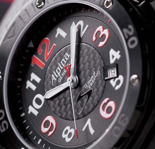 Alpina : chronométreur officiel de la course automobile d'endurance « 12 hours of Sebring »