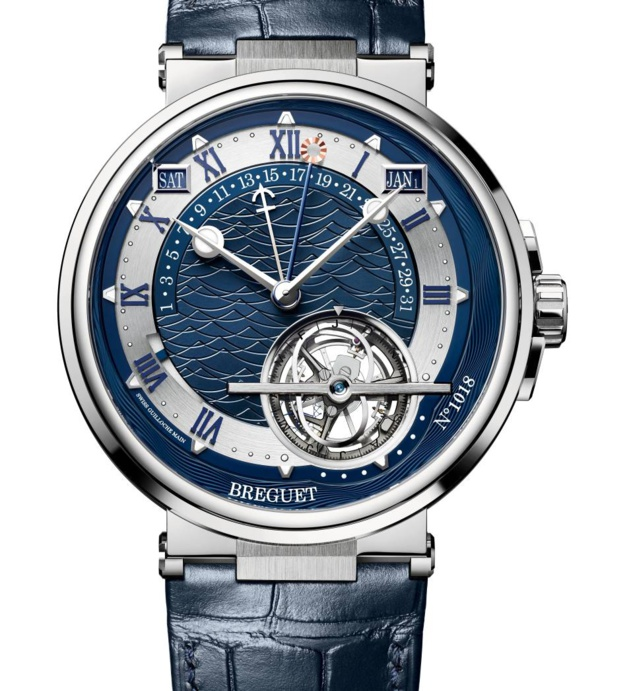 Breguet Marine Equation Marchante réf 5887 : du grand art horloger