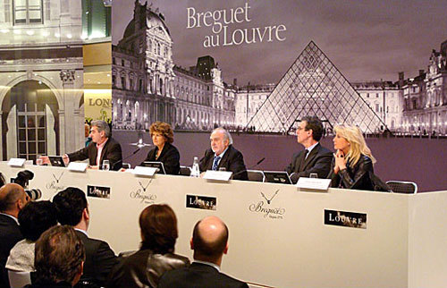 Breguet, mécène du Musée du Louvre