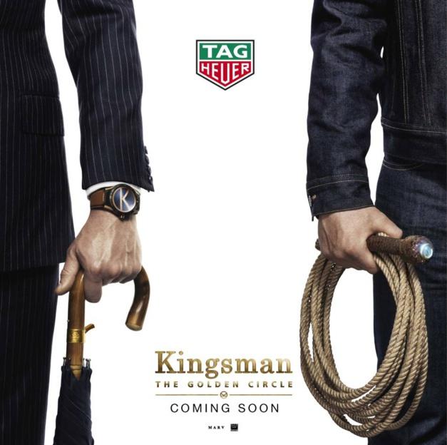 TAG Heuer partenaire de Kingsman