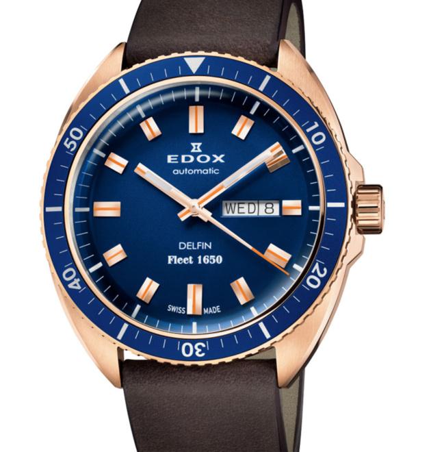 """Edox Delfin The Original Fleet 1650 : une nouvelle """"bronzo"""" sur le marché"""