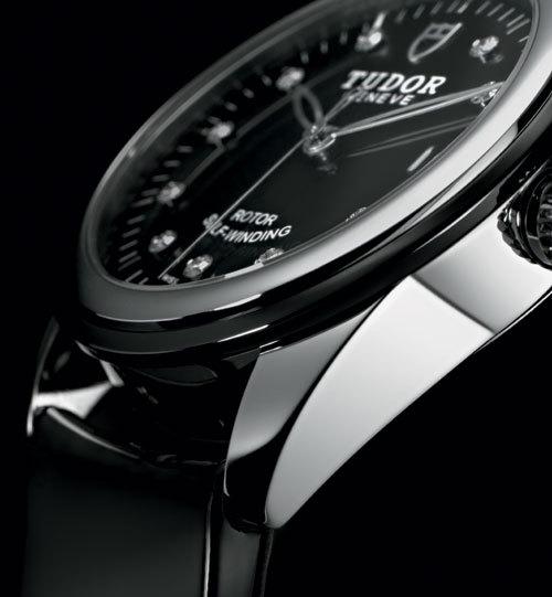 Tudor Glamour Date : rencontre de l'acier, de la céramique et des diamants…