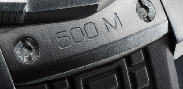 TAG Heuer Aquaracer 500M : une montre inspirée par l'univers de la plongée professionnelle