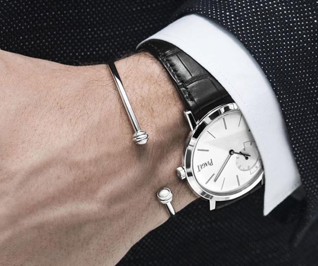 Piaget lance le bracelet Possession en or blanc pour hommes