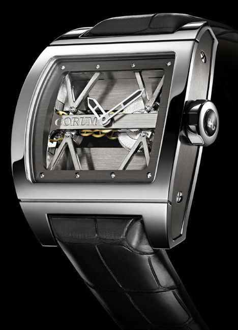 Corum Ti-Bridge : design racé et futuriste pour une montre d'exception
